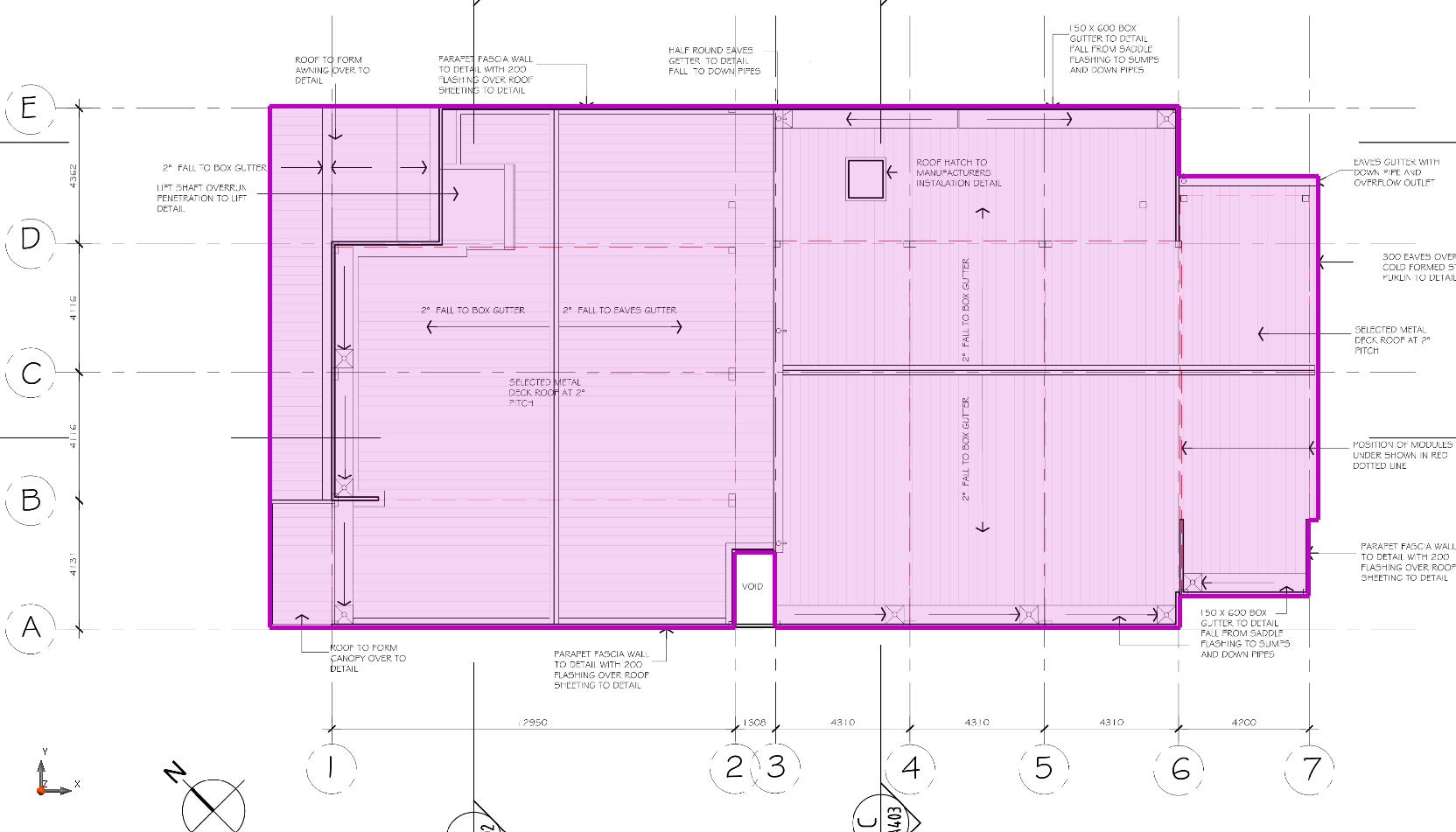Sydney Estimating | Roof - Flat Area - Sydney Estimating